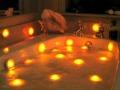 Candele profumate bagno