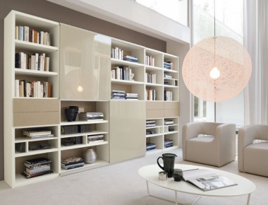 Libreria per soggiorno