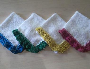 Asciugamani e lavette per bambini